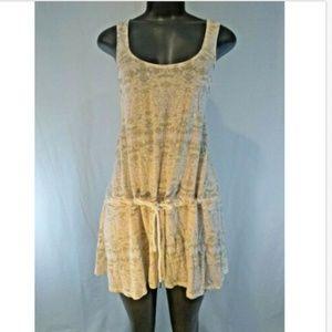 Victorias Secret Dress XS Tunic Cotton Peach NWOT